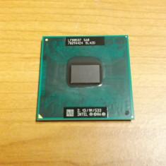 Procesor Laptop Intel Celeron M 560 SLA2D 2, 13 GHz Socket P, 2000-2500 Mhz, Numar nuclee: 1, P