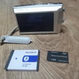 Aparat foto SONY Cyber-shot DSC-T70( cu Touchscreen) + card Sony 1GB