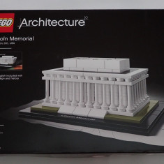 Lego Architecture 21022 Lincoln Memorial Washington original sigilat 274piese