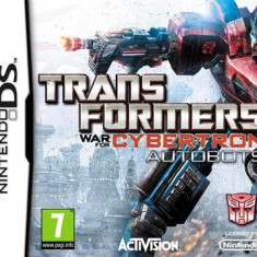 Transformers War For Cybertron Autobots Nintendo Ds - Jocuri Nintendo DS Activision, Actiune, 12+