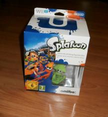 Wii U -  Splatoon Amiibo Bundle Edition ( fara joc )  , de colectie foto