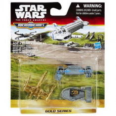 Set Star Wars Micromachines - Resistance Base - Vehicul Hasbro
