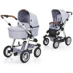 Carucior 2in1 Viper 4 Graphite Grey - Carucior copii 2 in 1 ABC Design