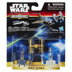 Set Star Wars Micromachines - Starfighter Assault - Vehicul Hasbro