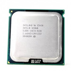 Intel Xeon E5430 Quad Core 2.66Ghz, 12Mb cache FSB1333 sk 771 modat la 775 - Procesor server, Intel Quad, 2500- 3000 Mhz, LGA 771/ J