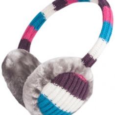 Kit casti aparatori urechi Forever colorate + cablu cu mufa de 3.5mm si microfon - Husa Telefon