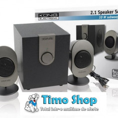 Sistem audio 2.1 Konig CMP-SP35