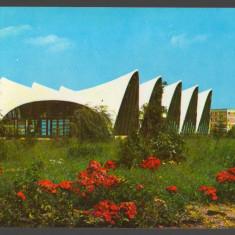 CPI (B7466) CARTE POSTALA - MUNICIPIUL GHEORGHE GHEORGHIU DEJ. COMPLEXUL SPORTIV - Carte Postala Transilvania dupa 1918, Circulata, Fotografie