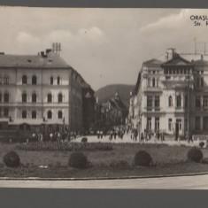 CPI (B7444) CARTE POSTALA - ORASUL STALIN. STRADA REPUBLICII, RPR - Carte Postala Transilvania dupa 1918, Circulata, Fotografie