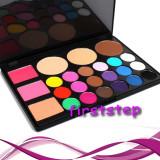 Trusa machiaj  24 culori profesionala paleta farduri + Blush + Pudra bronzer