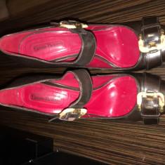 Pantofi - Pantof dama Cesare Paciotti, Culoare: Maro, Marime: 39