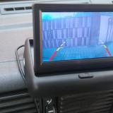 Sistem video marsarier auto 12v spate camera zi noapte si ecran nou