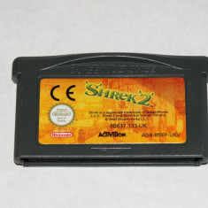 Joc Nintendo Gameboy Advance GBA - Shrek 2 - Jocuri Game Boy, Actiune, Toate varstele, Single player
