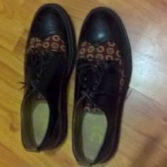 Pantofi barbati Fred Perry, Marime: 44.5, Culoare: Negru