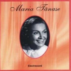 MARIA TANASE Maria Tanase Vol.1 (cd) - Muzica Lautareasca