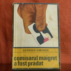 Carte - Comisarul Maigret a fost pradat - Georges Simenon (roman, 1969) #324