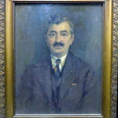 Costin Petrescu, Portret de barbat - Pictor roman