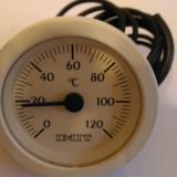 Termometru Circular cu Capilar 0-120 IMIT Centrala