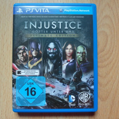 PsVita - Joc Sony PlayStation Vita - Injustice Gods Among Us Ultimate Edition - Jocuri PS Vita