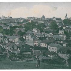 3553 - Bucovina, CERNAUTI, Panorama - old postcard - used - 1918 - Carte Postala Bucovina 1904-1918, Circulata, Printata