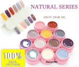 Set 12 Geluri UV Gel Color Canni - Seria Natural