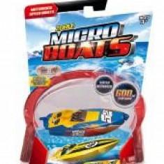 Barcuta electrica Micro Boats albastru - Macheta Navala