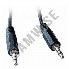 Cablu de la Mufa Jack 3.5 la Jack 3.5, lungime 1.8m - Adaptor interfata PC