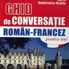 Maria Dumitrescu-Brates - Ghid de conversatie niculescu roman-francez - 684781
