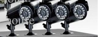 Set 4 camere de supraveghere Interior Exterior Lentile Sony 600 linii foto