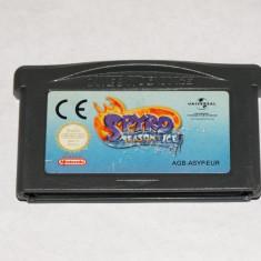 Joc Nintendo Gameboy Advance GBA - Spyro Season of Ice - Jocuri Game Boy, Actiune, Toate varstele, Single player