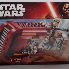 Lego Star Wars 75099 Nava Spatiala Rey's Speeder 193piese 2 minifigurine Sigilat, 6-10 ani
