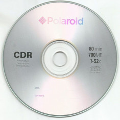 CD-R POLAROID 52X SHRINK 50