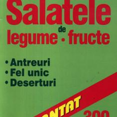 Florentina Pavel - Salatele de legume, fructe - 560275 - Carte Retete traditionale romanesti