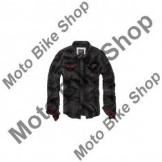 MBS Camasa cu maneci lungi Brandit Check Hemd Duncan, maro/negru, L, Cod Produs: 21827904LO
