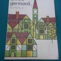 LIMBA GERMANĂ* MANUAL PENTRU CLASA A V-A (ANUL I DE STUDIU)V1980/ BASILUS ABAGER - Curs Limba Germana