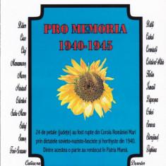 Viorel Cacoveanu - Pro memoria 1940-1945 - 619995 - Revista culturale