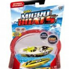 Barcuta electrica Micro Boats verde - Macheta Navala