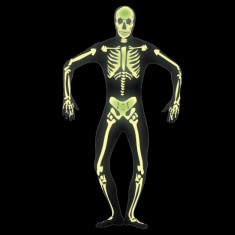 Costum schelet fosforescent diverse marimi