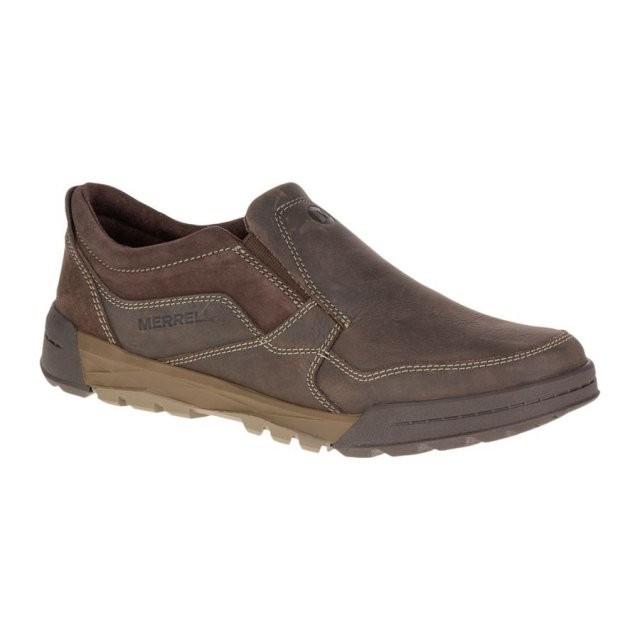 Pantofi pentru barbati Merrell Berner Moc (MRL-J49593-BRO) foto mare