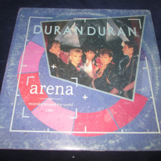 Duran Duran ‎– Arena _ vinyl(LP, album) Olanda synth-pop - Muzica Pop emi records, VINIL