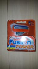 123123Rezerve Gillette  Fusion Power  set de 4 bucati