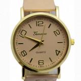 Ceas elegant de dama + cutie CADOU Poze reale! - Ceas dama Geneva, Quartz, Piele ecologica, Analog, Nou