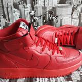 Ghete Nike Air Force One - Ghete dama, Culoare: Din imagine, Marime: 37