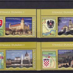 ROMANIA 2010, LP 1863, STEMELE DUNARII MNH - Timbre Romania, Nestampilat