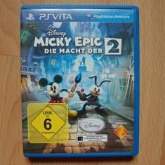 PsVita - Joc Sony PlayStation Vita - Disney Epic Mickey 2 The power of Two - Jocuri PS Vita