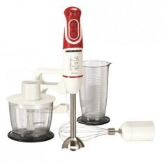 Mixer vertical Heinner Delice HB-600, 600 W, Cana 0.7 l, Tocator 0.5 l, 2 Viteze