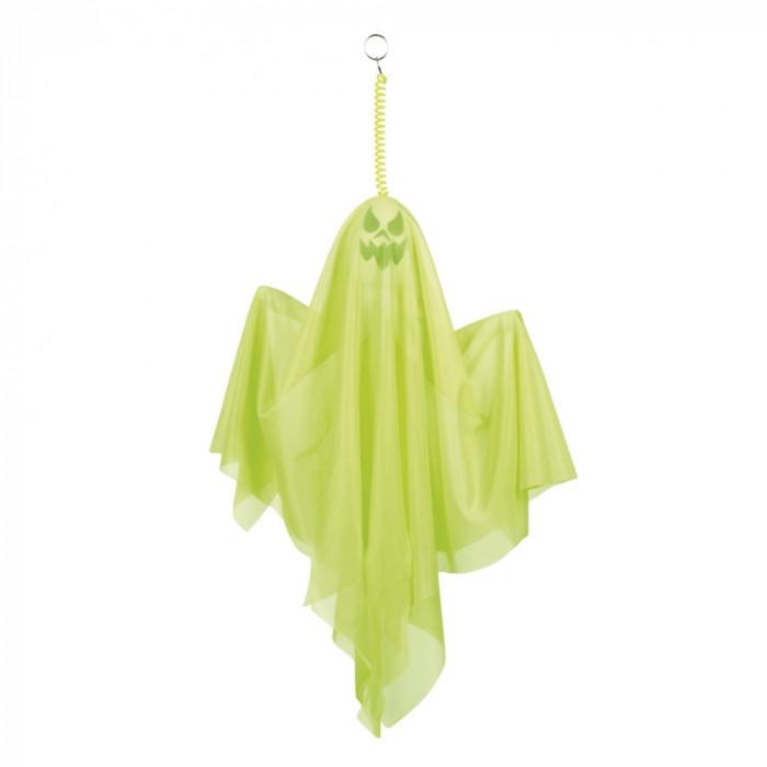 Fantoma decorativa Halloween verde neon - Carnaval24