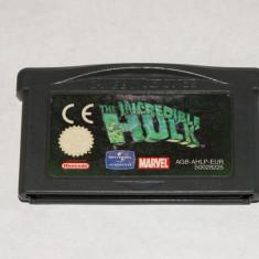 Joc Nintendo Gameboy Advance GBA - The Incredible Hulk - Jocuri Game Boy, Actiune, Toate varstele, Single player