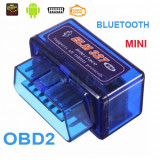 Diagnoza Universala Elm327 Mini Bluetooth OBDII OBD2 versiunea 2.1 + Torque Full - Interfata diagnoza auto