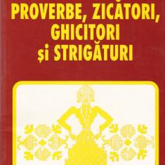 Mihail M. Robea - Proverbe, zicatori, ghicitori si strigaturi - 46143 - Carte Proverbe si maxime